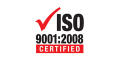 Certified by iso